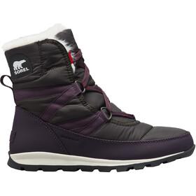 Sorel Whitney Short Lace Boots Women dark plum